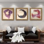 Special Design Frame Paintings Lines Print 3PCS