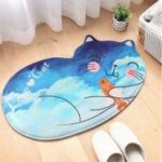 Creative Cartoon Cute Cat Bathroom Mat 50.0 x 80.0 cm