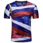 Fans Men Printed Short Sleeve T-Shirts