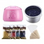 Hair Removal Wax Heater Machine Beans Sticks Waxing Kit