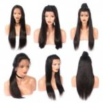 Long Free Part Straight Lace Front Real Human Hair Wig