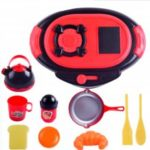 Kitchen Toy Cooking Food Dishes Cookware Pretend