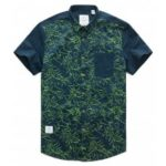 Green Plantation Short Sleeved Shirt