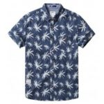 Forest Leaf Short-Sleeved Shirt