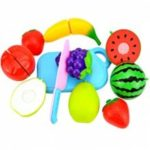 Plastic Kitchen Fruit Cutting Toys for Kids