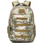 Outdoor Durable Water-resistant Backpack with USB Port