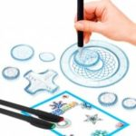 Fancy Stationery Drawing Magic Ruler Set Series