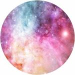 Non-Slip Rectangle Blinging Star Mouse Pad for Home Office and Gaming Desk
