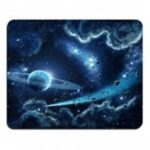 Blue Stars Supernova Galaxy Beautiful Space Mousepad Mouse Pad Mat
