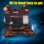 Multi Household Home Handle Electric Carpenter 82PC DIY Repair Tools Kits Set Garage Car Tool Garden