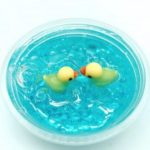 Slime Flat Ductile Duck Crystal Decompression Toys 60ml