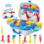 Kids Educational Simulation Doctor Suitcase Pretend Toy 13pcs