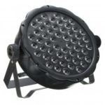 54x3W RGBW LED luce 162W PAR 64 DMX Indoor DJ Party Club Stage Lighting