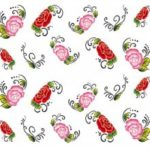 50PCS of Different Kinds of Nail Stickers Watermark