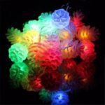 20LED Battery Case Pine Cone Lights