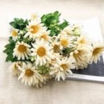 Gerbera Sun Flower Rurale Decorazione Home Branch of Artificial Flowers