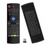 Android TV Box Wireless Remote Control Keyboard Air Mouse 2.4ghz per KODI PC TV