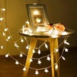 LED Star String Light per decorazioni natalizie da interno ed esterno