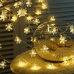 20LED USB Modelli Christmas Snowflake Lights