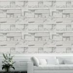 Creative Brick Pattern PVC Waterproof Self-adhesive Wallpaper