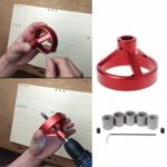 Joinery System Kit Vertical Hole Jig Guide Fast Woodworking Drilling Tool