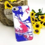 Color Ink Pattern TPU Protective Flexible Soft Case for iPhone 6