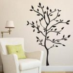 3D Wall Stickers PVC Environmental Stickers Trees 90 * 60cm