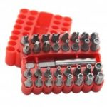 Safety Screwdriver Bit Hexagon Shank for Charging Drill 33pcs