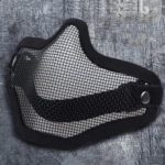 V1 Half Face Wire Protective Mask for Outdoor Field