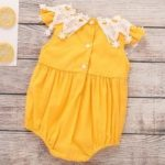 TZY24206 Baby Girl Sweet Lace Triangle