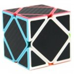 Carbon Fiber Sticker Oblique Magic Cube Educational Toy