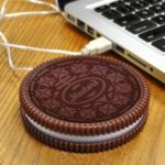 623 USB Power Biscuit Cup Mat Oreo Sandwich Biscuit Cup Mat