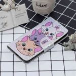 Three Cats Laser Colorful Phone Case for Samsung Galaxy A750 / A7 2018
