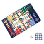 RY093 Children Flying Chess Game Carpet Toy