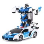 RY028 Wireless Charging Stunt Car Remote Control Toy for Children