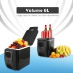 6L Mini Fridge 2 In 1 Less Noise 12V 45W Car Refrigerator Warmer for Cars Coche Home Camping ML12