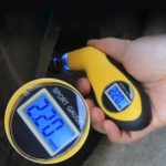 Car Digital LCD Tire Pressure Gauge Tester Auto Driving Safety Tool ML034
