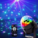 Mini Magic Ball LED Rotating Stage Lamp 100 – 240V