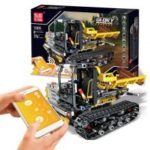 Mould King Intelligent Programming APP Control Engineering Vehicle