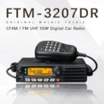 Yaesu FTM-3207DR UHF Digital Car Radio High-Power Vehicle Digital Dual Mode Transceiver