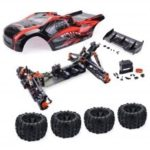 ZD Racing 9021 – V3 1/8 Brushless 4WD RC Monster Truck Frame RTR
