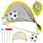 Folding Portable Retractable Soccer Goal Toy Folding Goal Outdoor Sports Toy With Football