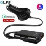 OLAF QC3.0 2 USB Car Charger Fast Charging TPU Quick Charging Safe Protcetion