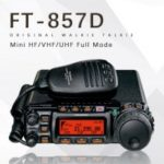 Yaesu FT-857D Car Dual Band Portable Amateur Radio Shortwave Ultrashort Mini Full Mode Car Radio