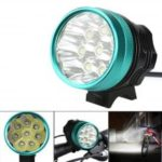 ZHISHUNJIA B8 8X XM-L T6 LED Bicycle Light with Waterproof Battery Pack