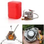 Portable Outdoor Picnic Gas Burner Foldable Camping Mini Steel Stove