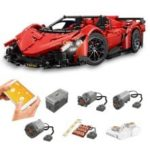 Mould King 1:8 MOC – 10559 Red Poison Building Block Car 2538PCS