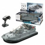 HG C201 1:110 2.4G RC Brushless Hovercraft Remote Control Watercraft War Boat