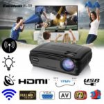 Excelvan BL – 59 Android 6.0.1 3200 Lumens 1280 x 768 200 Inch Multimedia Projector