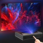 Xiaomi Ecosystem WEMAX L1668FCF 4K Ultra Short Throw Laser Projector TV Home Theater– Mirror Black